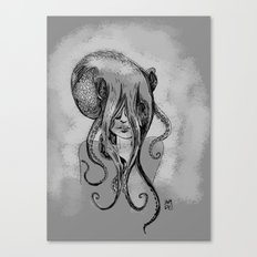 Octogirl Canvas Print