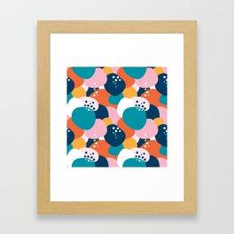 Blobby Framed Art Print