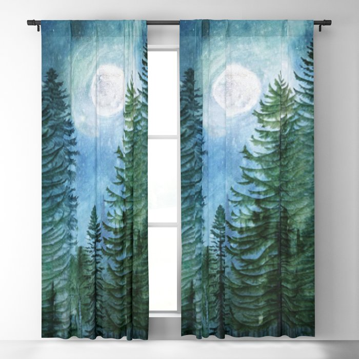 Silent Forest Blackout Curtain