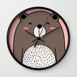 Cool Bear Wall Clock