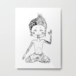 Indecisive Metal Print