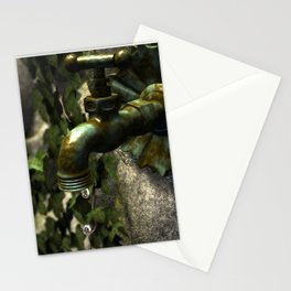ancient spigot Stationery Cards