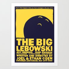 The Big Lebowski Art Print
