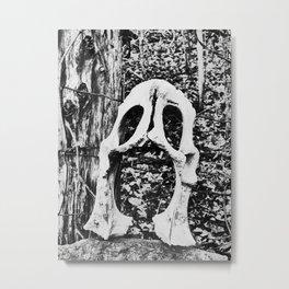 bone mask II Metal Print