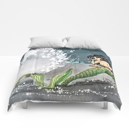 Shore break Comforters