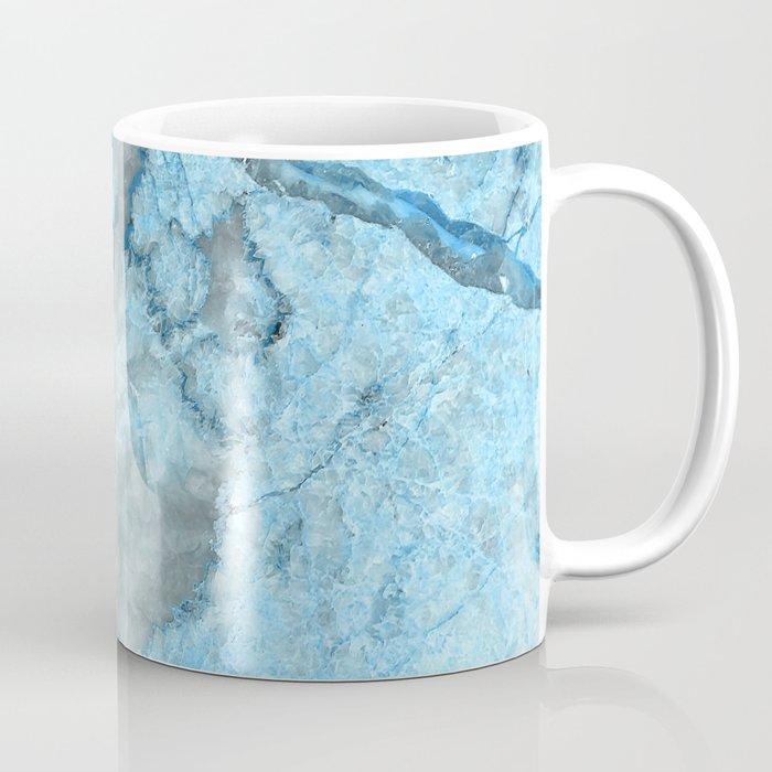 Ocean Blue Mermaid Marble Coffee Mug