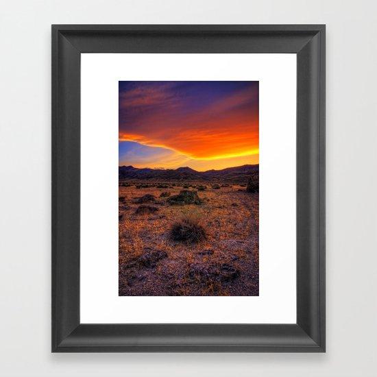Desert Delight Framed Art Print