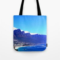 south africa Tote Bags featuring South Africa Impression 10 by Art-Motiva