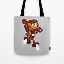 Super Iron Bomb Man Tote Bag