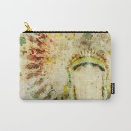 Old West Boho Headdress Carry-All Pouch