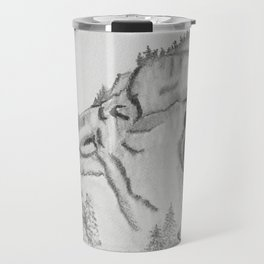 The Fairytale about the Wolf, Bear, and the Lion Travel Mug