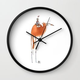 Numero 10 -Cosi che cavalcano Cose - Things that ride Things- NUOVA SERIE - NEW SERIES Wall Clock