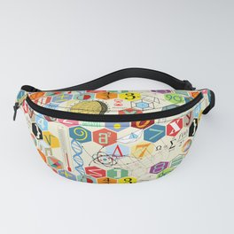 Math in color (little) Fanny Pack