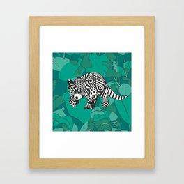PandOo in the jungle Framed Art Print