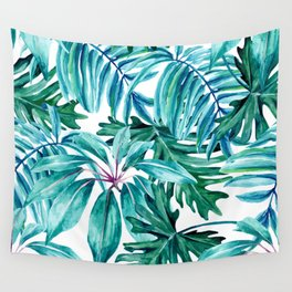 Tropical jungle II Wall Tapestry