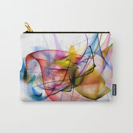 Structur World by Nico Bielow Carry-All Pouch