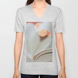 Book Love Unisex V-Neck