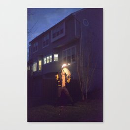 the suburb of stafford Canvas Print