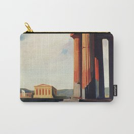 Vintage 1920s Agrigento Italian travel ad Carry-All Pouch