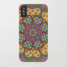 Country Flower iPhone X Slim Case