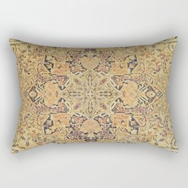 Traditional bright patterned rug Rectangular Pillow