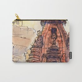 Bhaktapur Temple Carry-All Pouch