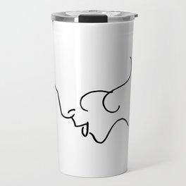 Elegance // Blind Contour Travel Mug