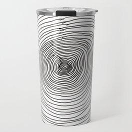 Concentric Circles Travel Mug