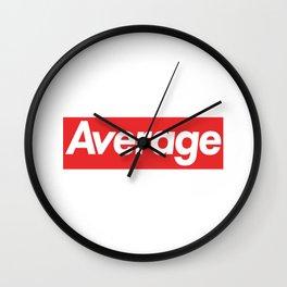 Average Wall Clock