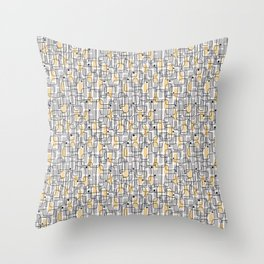 City with lights Throw Pillow