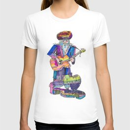 guitar playing chassid T-shirt