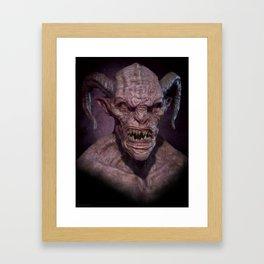Demon II Framed Art Print