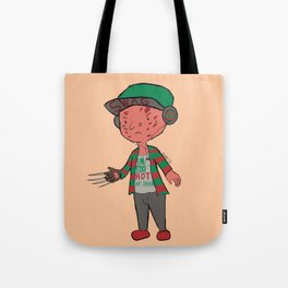 Horror Hipsters - Freddy Krueger Tote Bag