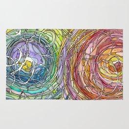 Watercolor Loe Rug