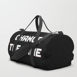 Change the game Duffle Bag