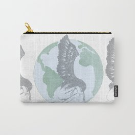 Earth Angel- Love Unearthed Carry-All Pouch