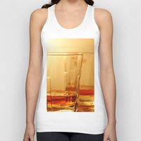 whiskey Tank Tops featuring Whiskey by Vishal Wadhwani