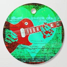 Guitar Love Cutting Board