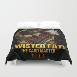 League of Legends TWISTED FATE - [The Card Master] Duvet Cover