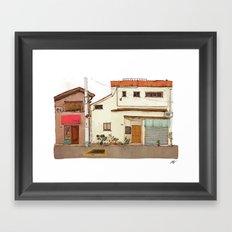 Tokyo Street 4 Framed Art Print
