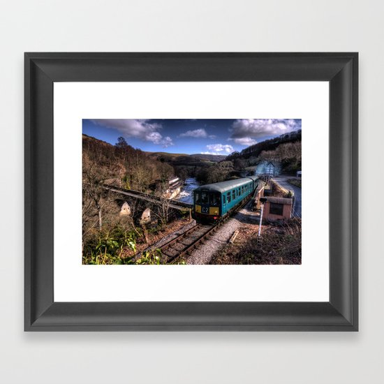 Dmu at Berwyn  Framed Art Print