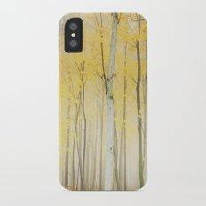 Yellow Slim Case iPhone X