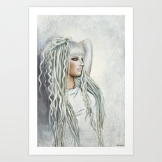 Elevinn Iridian Art Print