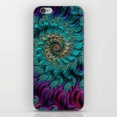 Aqua Swirl iPhone & iPod Skin