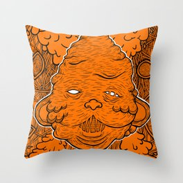 Gluttony Throw Pillow