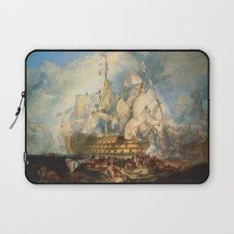 "J.M.W. Turner ""The Battle of Trafalgar"" Laptop Sleeve"