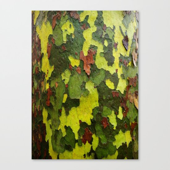 Real Camouflage Canvas Print