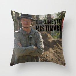 Ilari Aalto - Dokumentti Ristimäki Throw Pillow