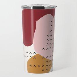 Big Shapes / Mountains Travel Mug