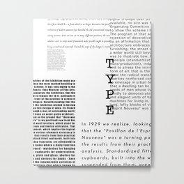 Type - Le Corbusier, Pavilion L'Esprit Nouveau Metal Print